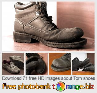 images free photo bank tOrange offers free photos from the section:  torn-shoes