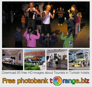 Image bank tOrange offers free photos from the section:  tourists-turkish-hotels