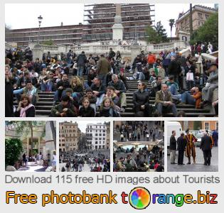 Image bank tOrange offers free photos from the section:  tourists