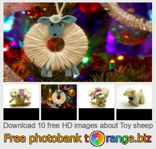 images free photo bank tOrange offers free photos from the section:  toy-sheep