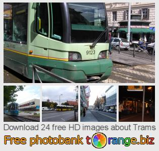 images free photo bank tOrange offers free photos from the section:  trams