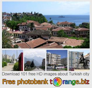Image bank tOrange offers free photos from the section:  turkish-city