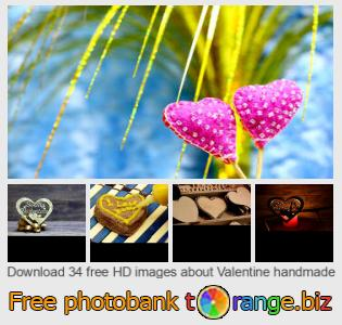 Image bank tOrange offers free photos from the section:  valentine-handmade