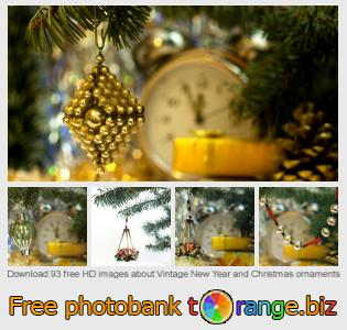 Image bank tOrange offers free photos from the section:  vintage-new-year-christmas-ornaments