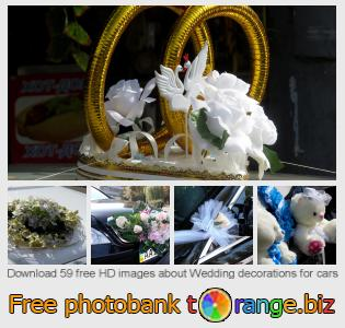 images free photo bank tOrange offers free photos from the section:  wedding-decorations-cars