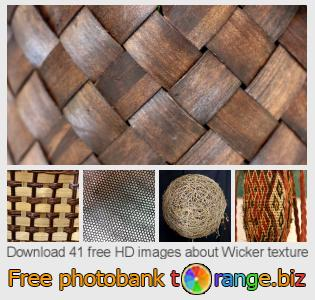 Image bank tOrange offers free photos from the section:  wicker-texture