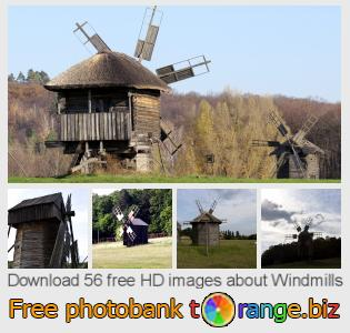 images free photo bank tOrange offers free photos from the section:  windmills