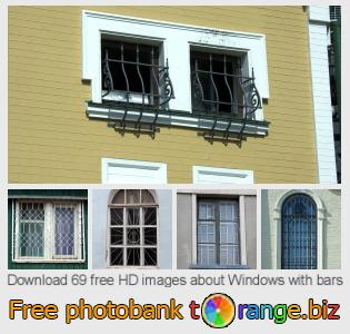 images free photo bank tOrange offers free photos from the section:  windows-bars