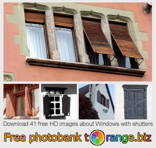 images free photo bank tOrange offers free photos from the section:  windows-shutters