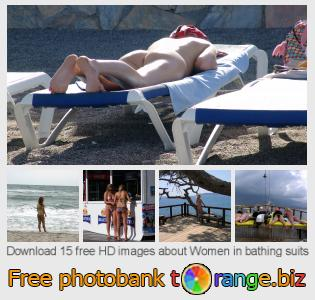 images free photo bank tOrange offers free photos from the section:  women-bathing-suits