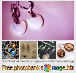 images free photo bank tOrange offers free photos from the section:  womens-earrings
