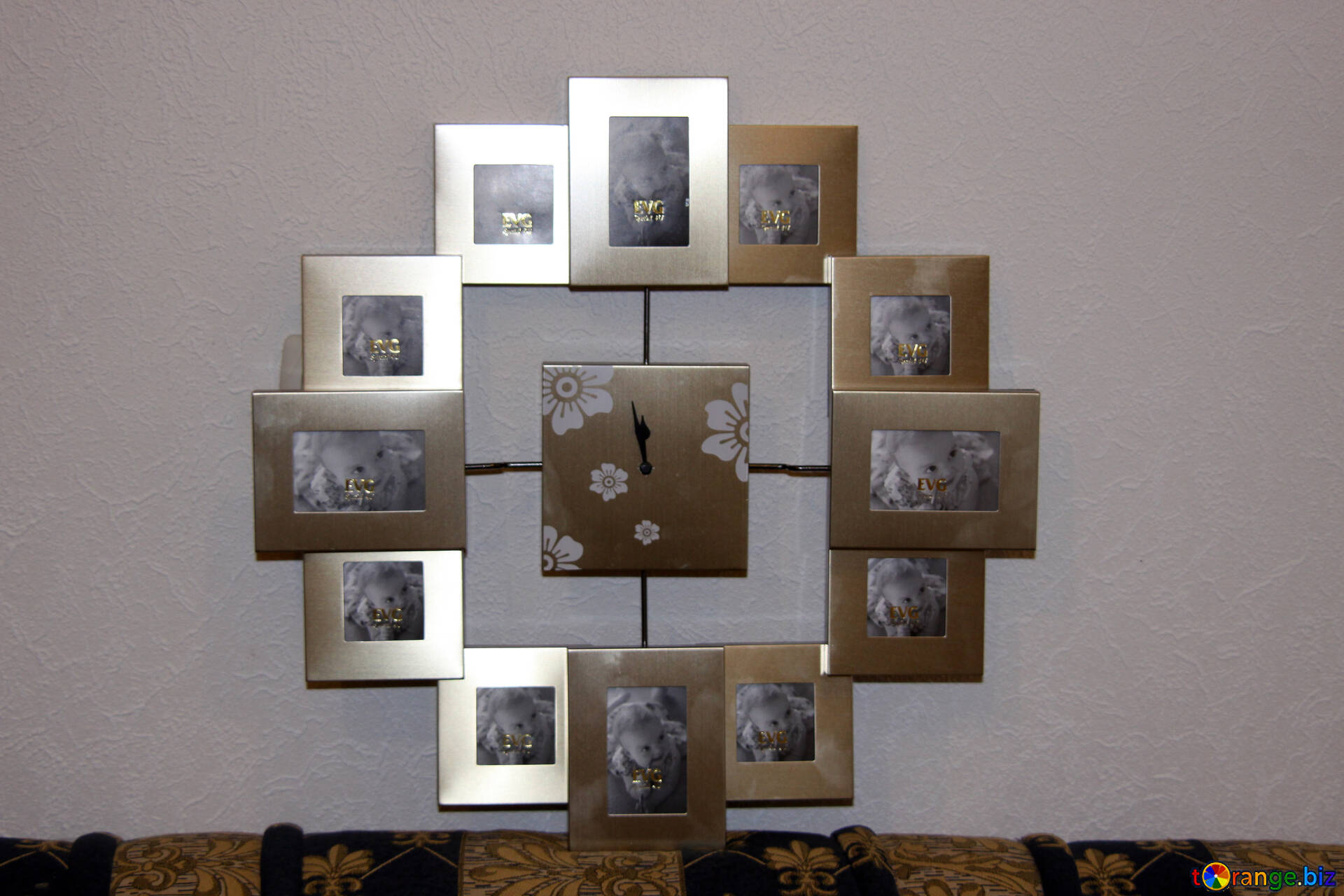 Uhren wanduhr mit bilderrahmen uhr № 982