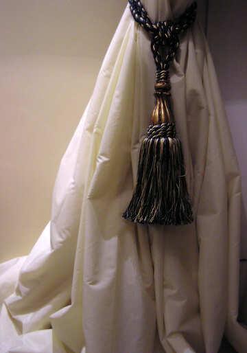Tassels on curtains №318