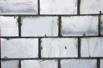 Un muro di schiuma di grandi dimensioni №818
