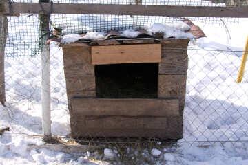 Box wooden №714