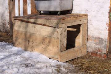 Wooden shack №715