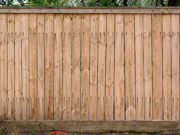 Wooden fence. Texture №632