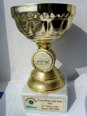 Sports awards. Cup. №642