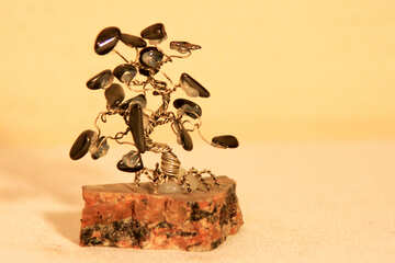 Artificial stone tree №923