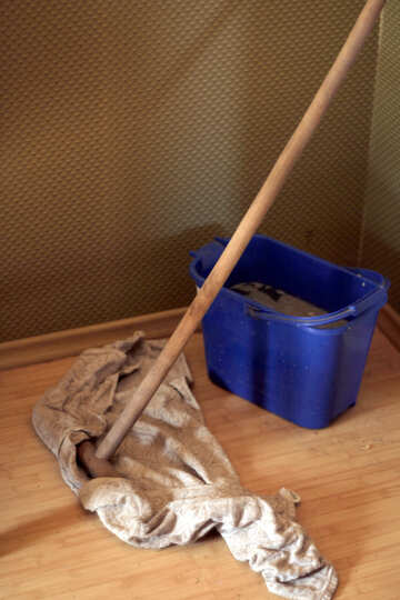 Mop and bucket №796