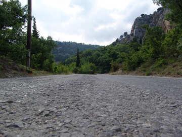Strada della montagna №204