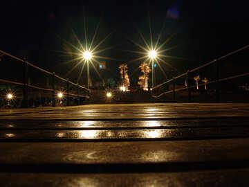 Night pier №177