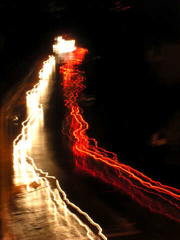 Tracce di notte dalle automobili №215