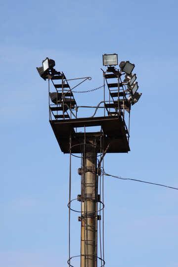 Lighting mast №900