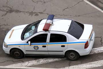 Ukrainisch  Straße  Polizei DAI №481