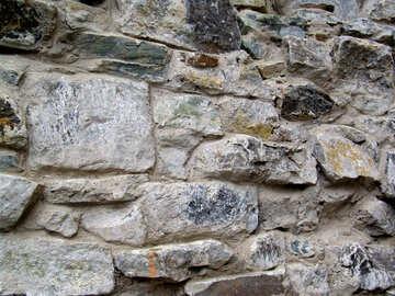 Alte Steinmauer (Textur Mauerwerk) №357
