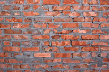 Red brick wall texture №816