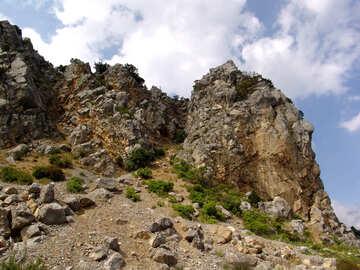 Rocks against the sky №201