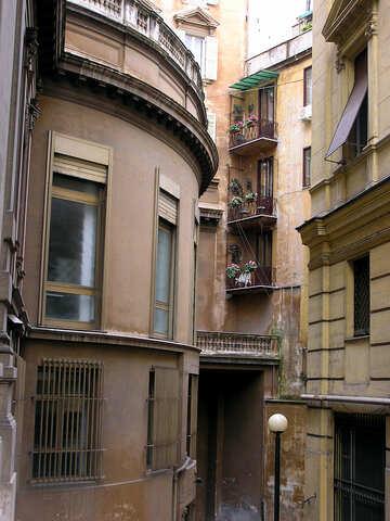 Roman patio №321