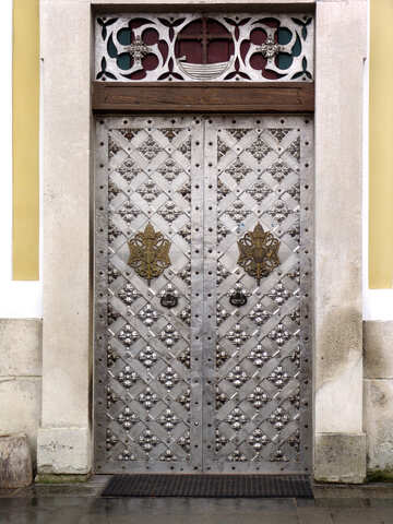 The doors of the church №310