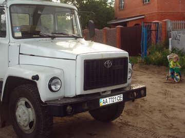 camion con Toyota targhette №612