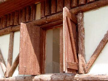 Wooden shutters №264