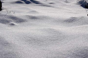 Snow drifts №833