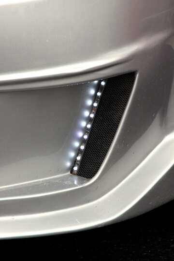 Tuning. LED backlight bumper. №893