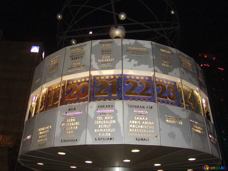 World clock in Berlin №220