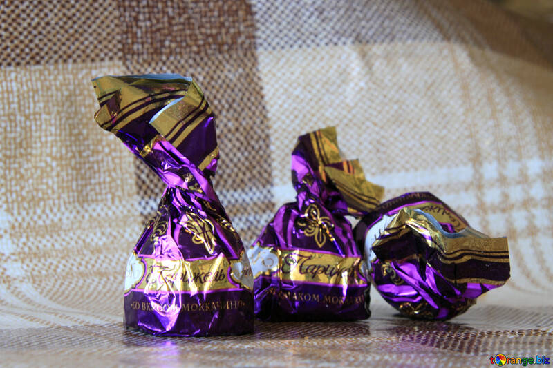 Three chocolates on the table №853