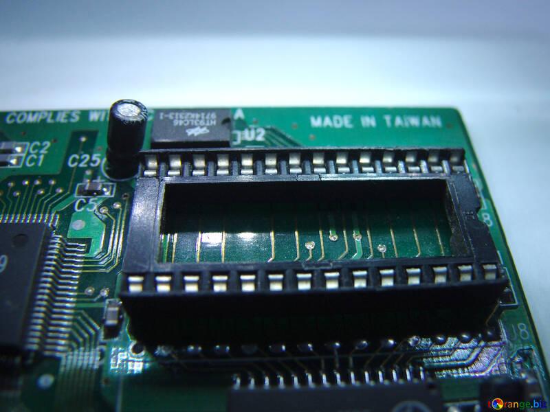 Socket for memory chips №662