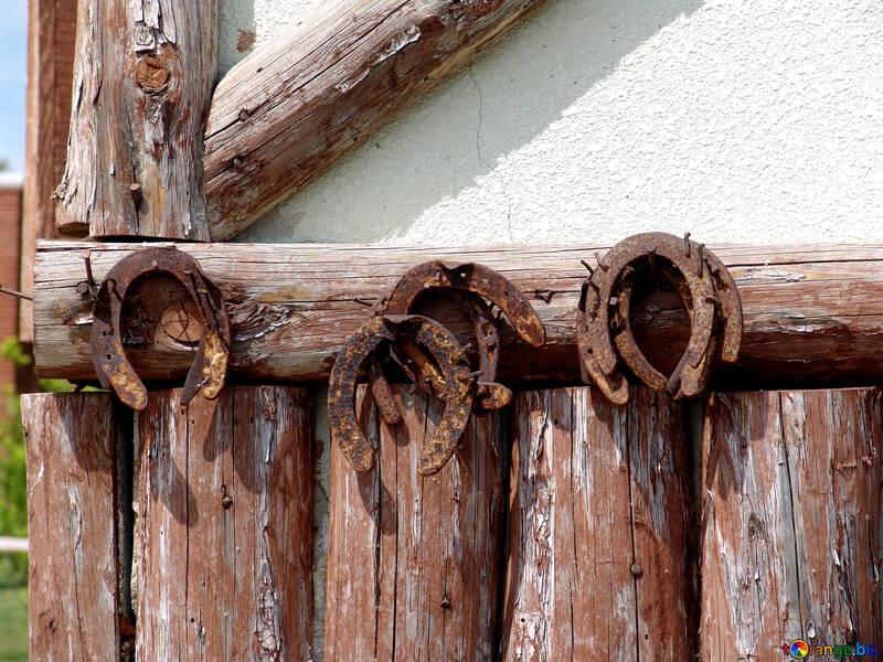 Rusty horseshoes №262