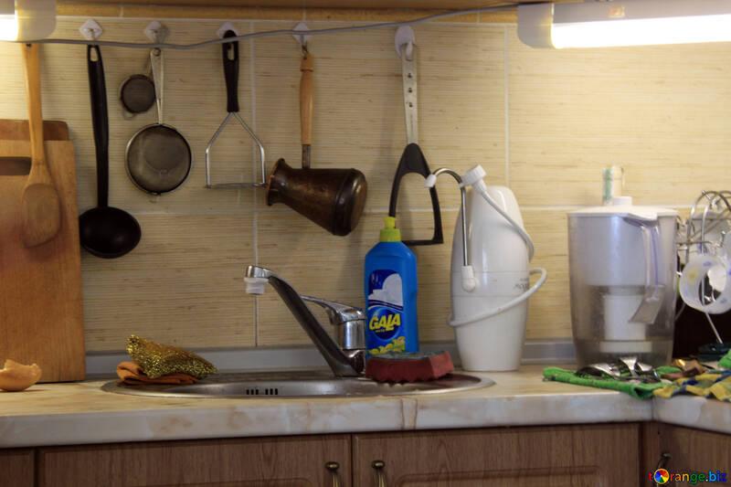 Kitchen sinks and accessories №785