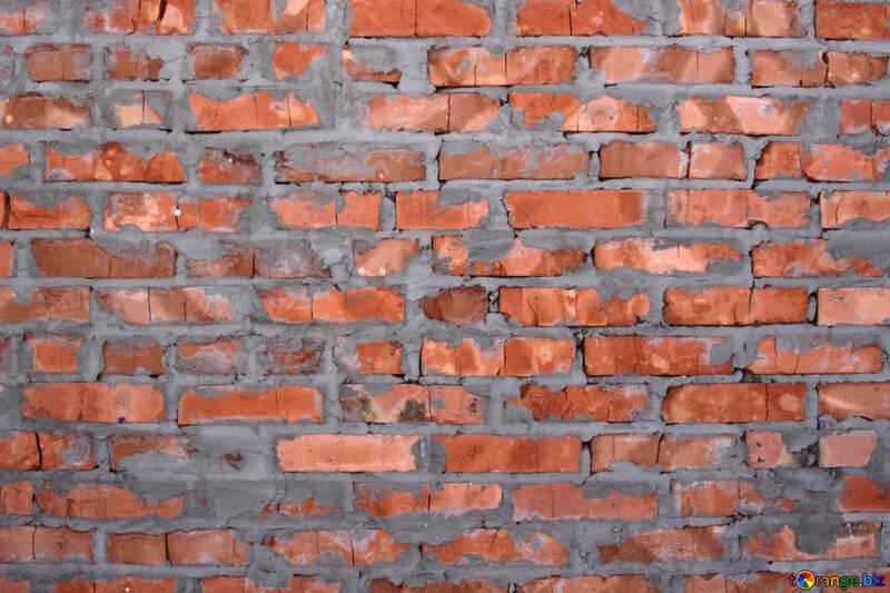 Rosso mattone parete struttura №816