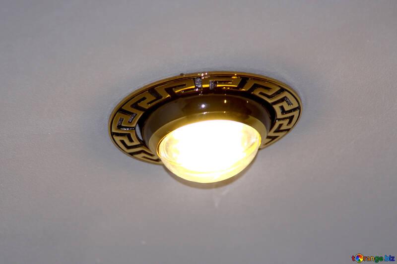 Spotlights in false ceiling №931