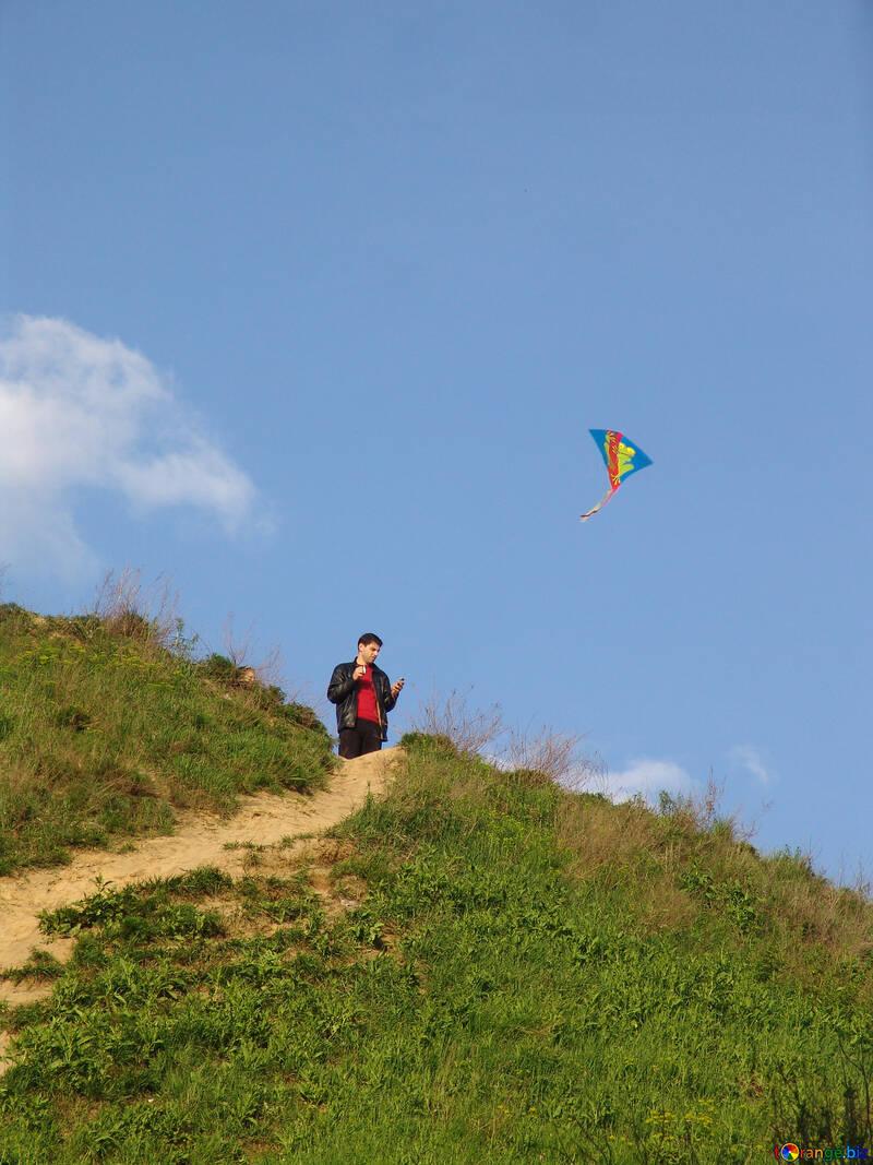 Launch kite №569