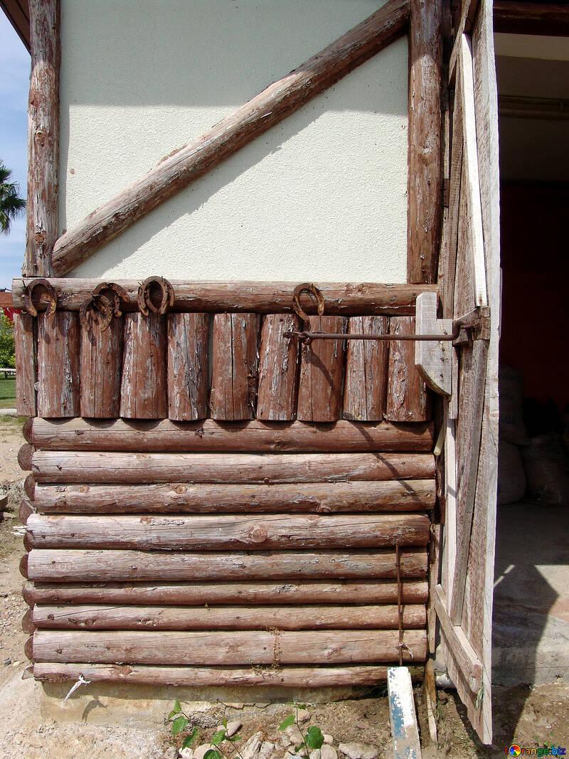 Log walls №263