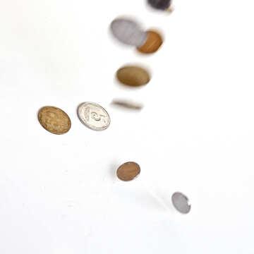 Fallen Münzen №1559