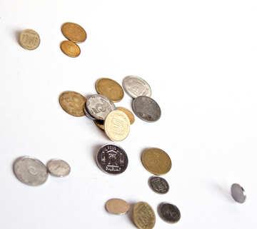 Fallen Münzen №1561