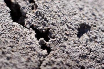 Frozen concrete. Micro survey №1702